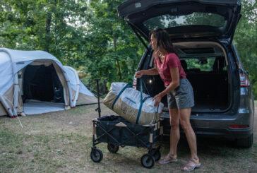 Carrito para camping trolley plegable de Decathlon